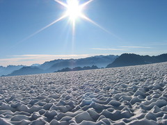 summer glacier
