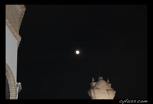 Luna de lejos