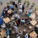 Small photo of Due South diners from above