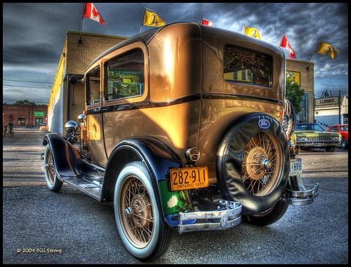 ford modela 1928 hdr dunnville photomatix 3exp dunnvillecruiserscarclub