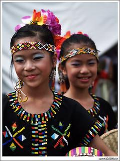 Tadau Kaamatan Festival Open House - Rumah Terbuka Kaamatan 7 Jun 2009 Padang Merdeka - Cultural Dancers