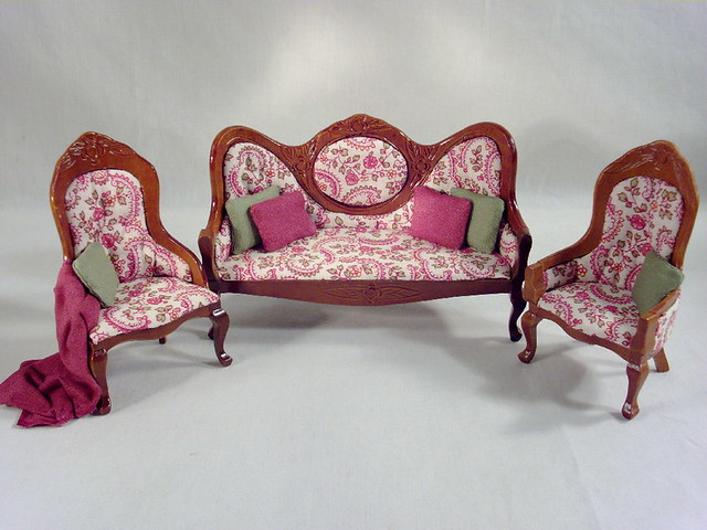 1800s Reproduction Victorian Parlor By Deb 39 S Minis