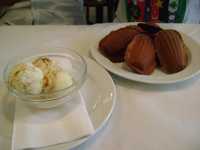 Burnt Ice Cream and Madeleines at St. John