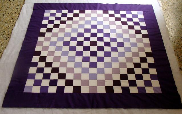 Quilt Pattern For Trip Around The World : Trip Around The World Quilt Top Flickr - Photo Sharing!