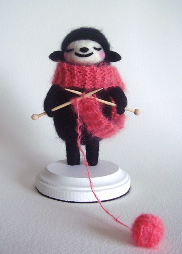 Knitting Black Sheep