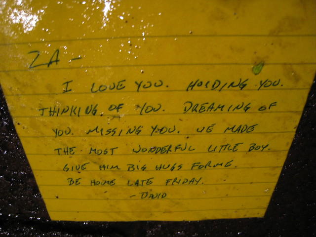 The Most Beautiful Note in the Rain
