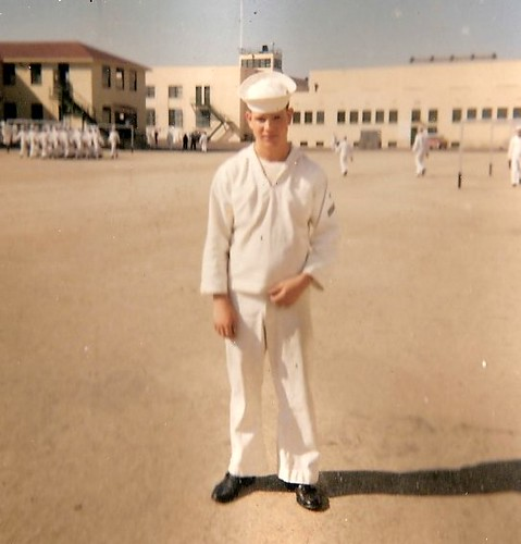 FRIEND AT USNTC, SAN DIEGO SPRING 1960