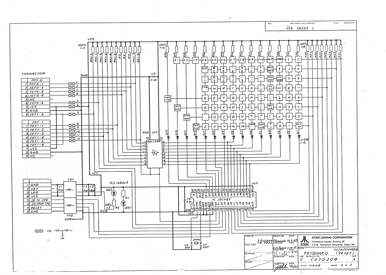Smallymouse2 Universal Usb To Quadrature Mouse Converter Stardot Ps 2 Pinout 6 Pin Wire Diagram What It Cant Supply Is Large Currents Say 100ma And Greater As You Risk Damage Pcb Tracks The Stfm Keyboard Schematic Here Image Other Ps2