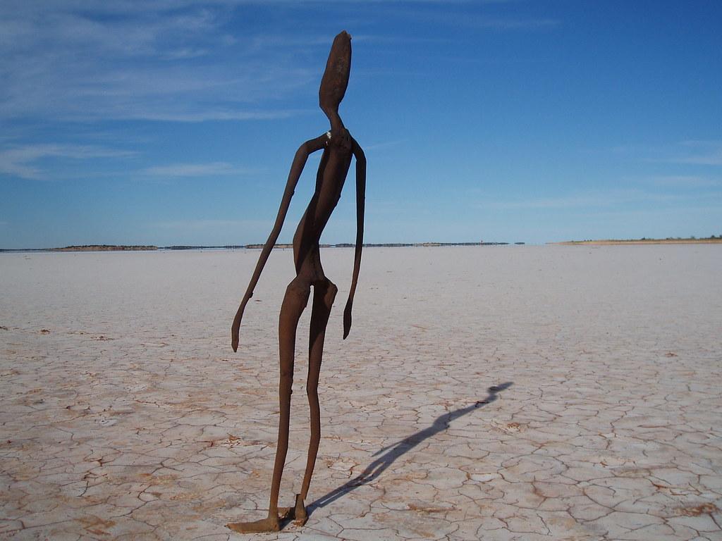 """Inside Australia"". Lake Ballard. WA"