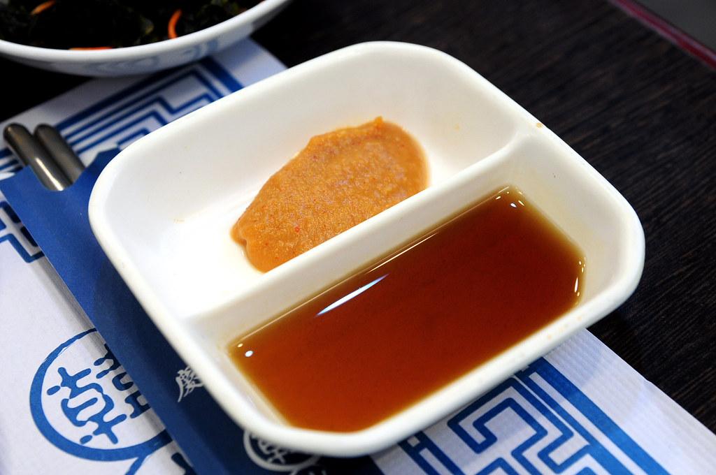 慶州館-沾醬