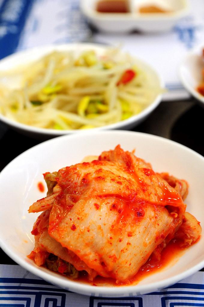 慶州館-泡菜
