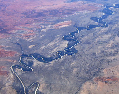 Aerial: The Darling River from 15,000ft | by Tim J Keegan