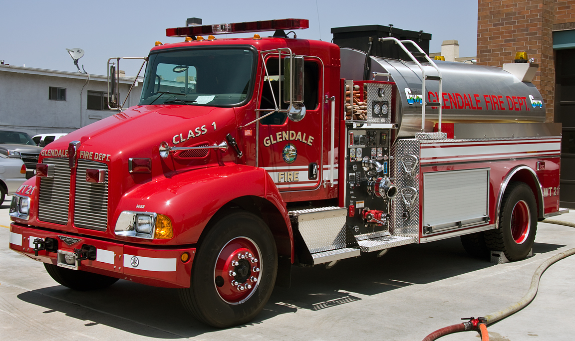 Glendale fire department water tender 21 a photo on for Department of motor vehicles glendale ca