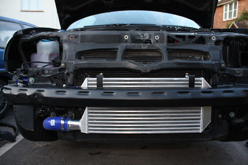 the review forge front mounting intercooler for the mk4. Black Bedroom Furniture Sets. Home Design Ideas