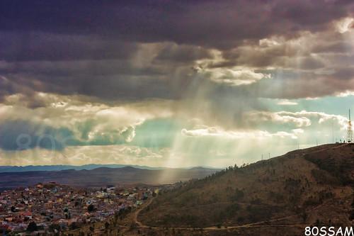 angelsánchez zacatecas sunset ocaso cloudy raining landscape sky hill mexico bufa canon xsi 450d geotagged platinumheartaward
