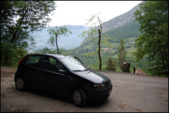 259 - Grenoble - My car in the surronding hills