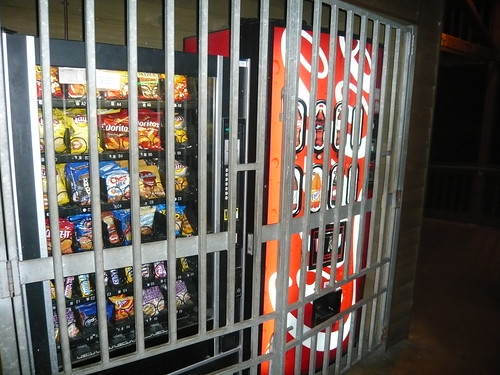 Vending Machines Behind Bars