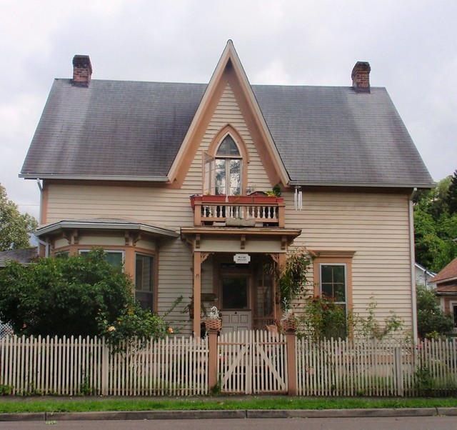 James milne gothic revival victorian flickr photo sharing for Gothic revival farmhouse