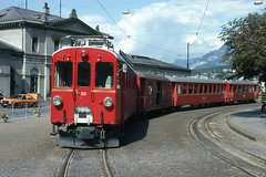 Trains du Coire - Arosa (Suisse)