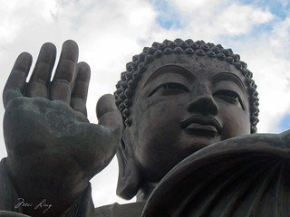 Close up of the Big Buddha