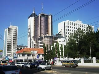 Downtown Mombasa