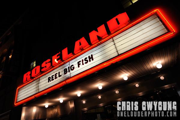 Review of reel big fish concert at roseland ballroom nyc for Big fish musical soundtrack