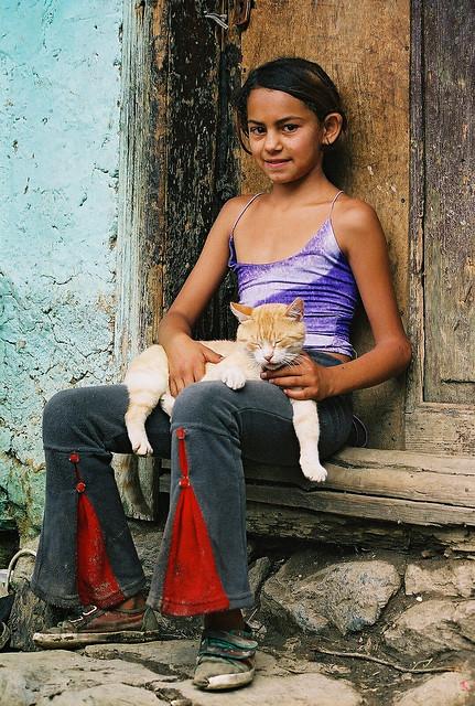 Europe: Roumanie Romania România Roménia Románia: girl