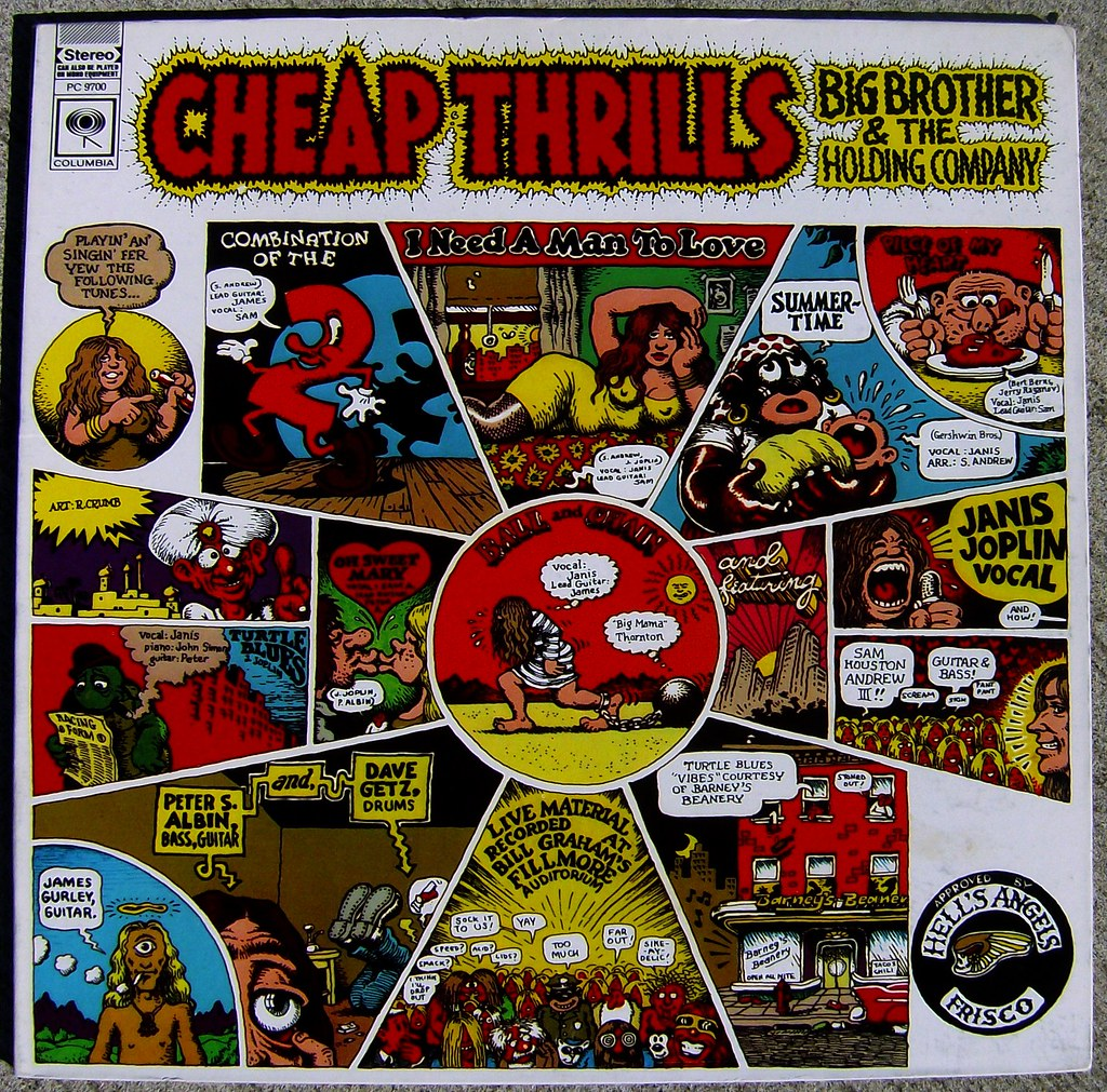 Big Brother Amp The Holding Company Cheap Thrills A