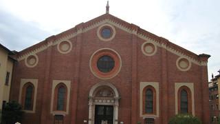 Bild von Santa Maria delle Grazie. milan thelastsupper santamariadellegrazie