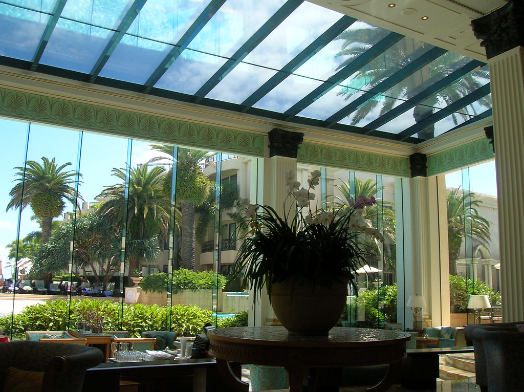 lobby of 5 stars hotel in Gold Coast, Palazzo Versace