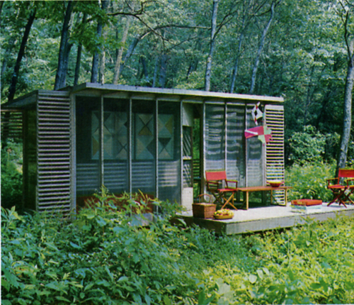 Ouno design screen for Garden design 1970s