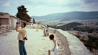Younger Dion on the Acropolis in Greece