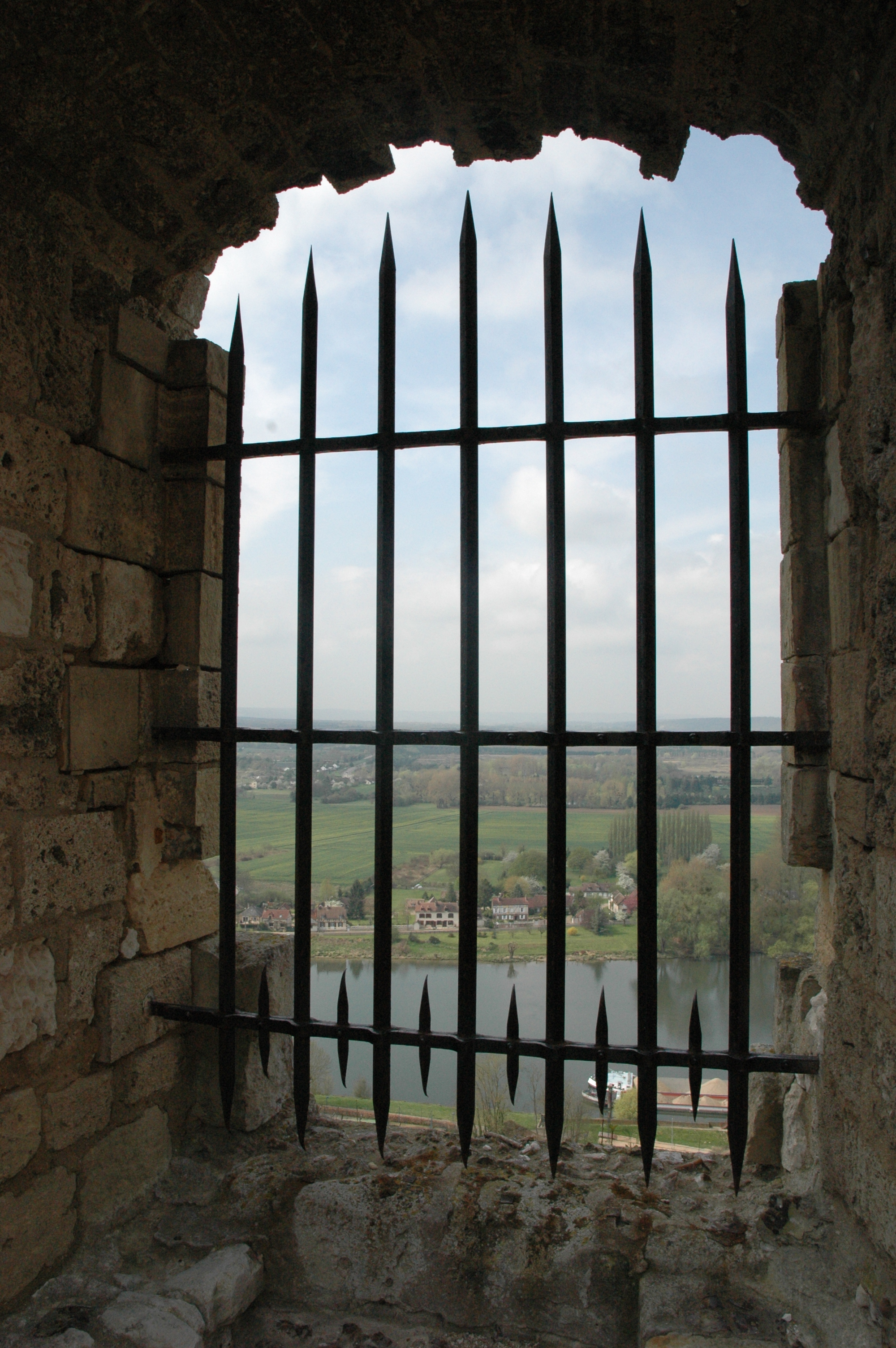 Through the castle window