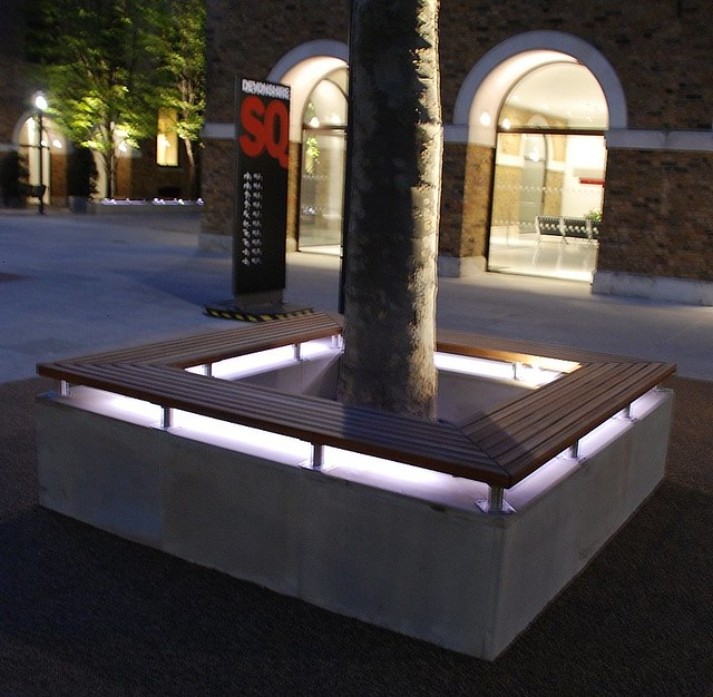 Street Furniture.Devonshire Square London.pendlewood.com