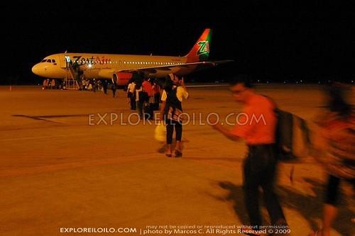 ZestAir A320 Iloilo-Manila