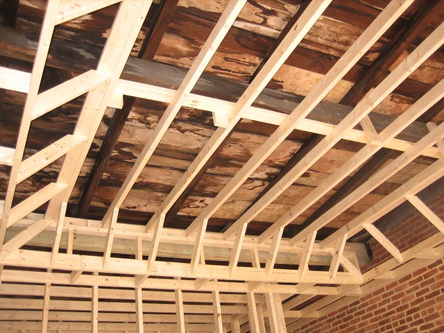 Master Bedroom Tray Ceiling Frame