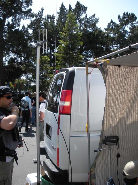 Amateur TV antenna