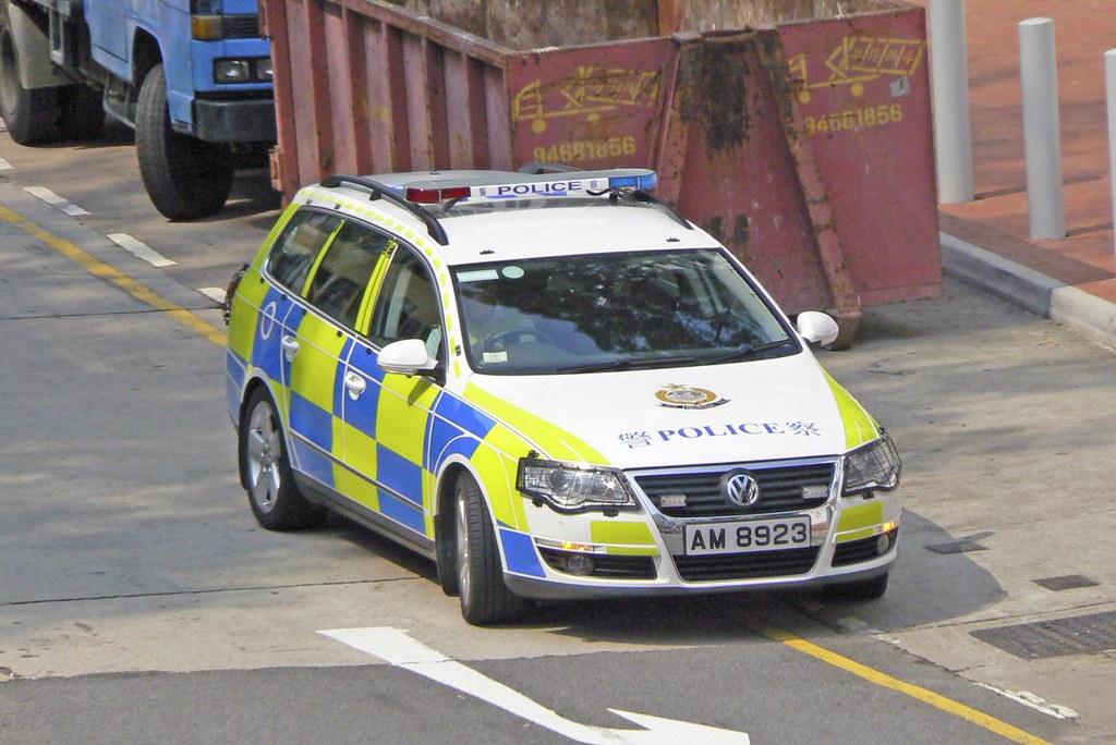 Hong Kong Traffic Police Car A Photo On Flickriver