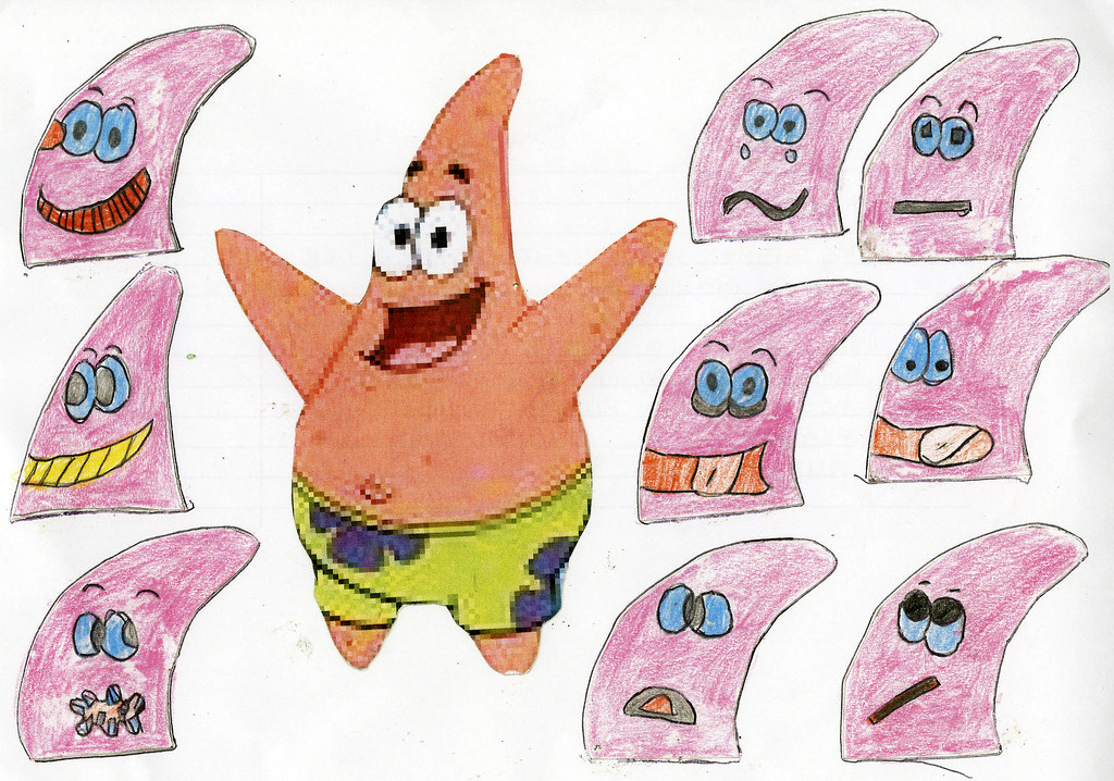 Patrick Star | Name: Jessica Age: 10 My Hero because: He is … | Flickr