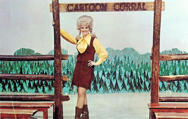 Cartoon Corral Postcard