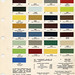 Automotive Color Charts and Codes