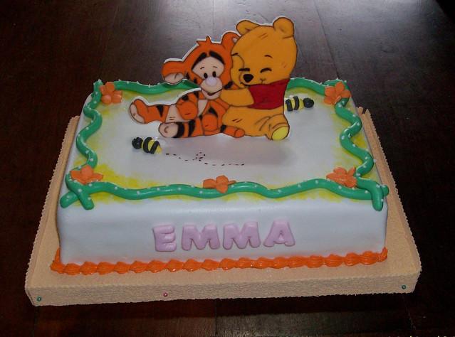Torta Winnie Pooh bebé - Imagui