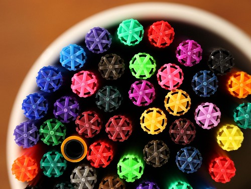 Pens... When you have an established pattern, break it.