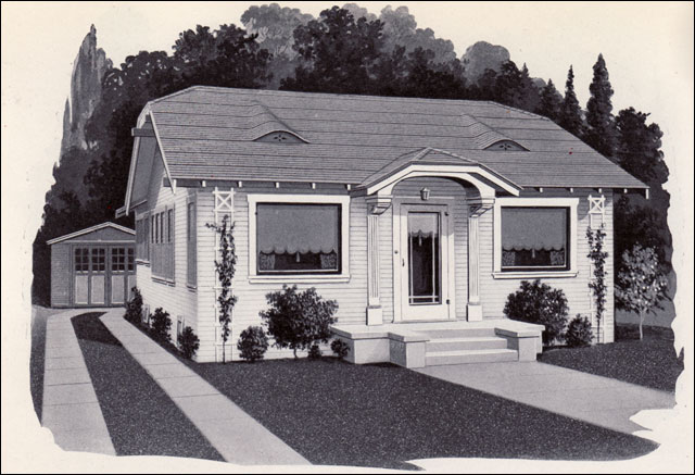 1925 Pacific Ready Cut Home Style 97 Pacific Ready Cut