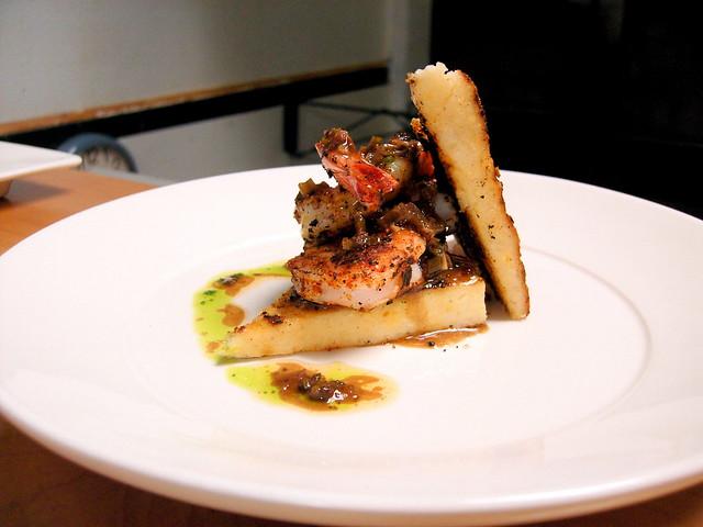 Shrimp And Grit Cakes Recipe