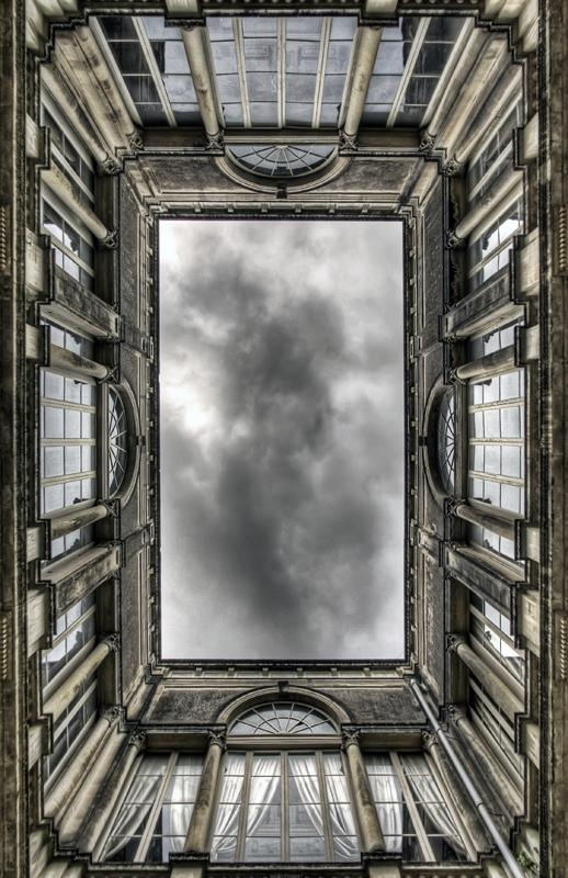 frame of windows - lecce, salento, italy