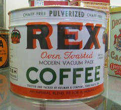 Coffee Tin by Rex