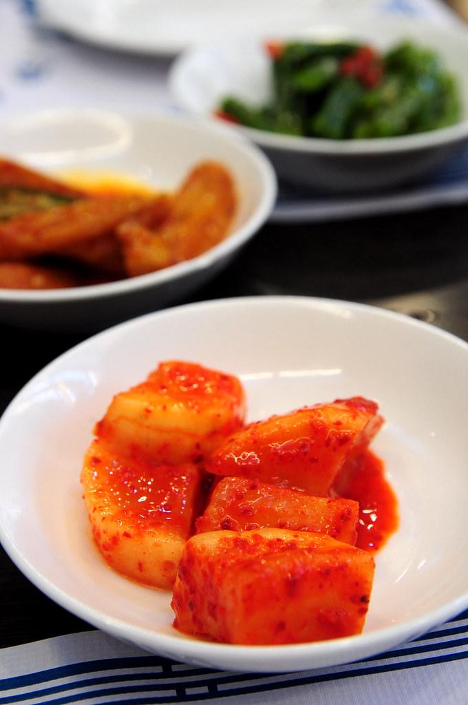 慶州館-醃蘿蔔