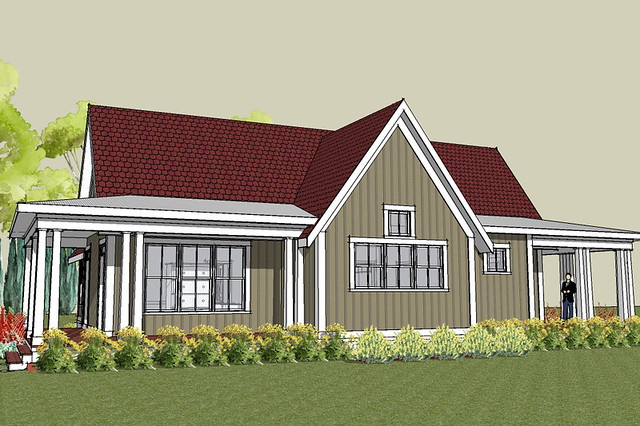 Hudson cottage house plan exterior flickr photo sharing for Home design 9358