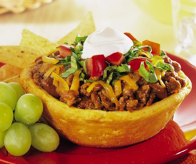 RECIPE: Biscuit Taco Cups | Flickr - Photo Sharing!